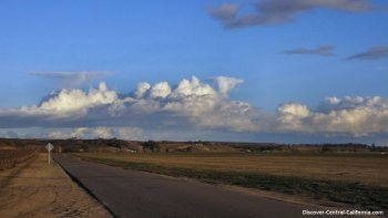 A Central California backroad view