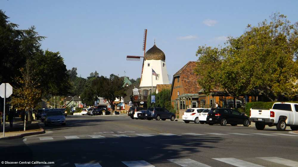 Alisal Road in Solvang