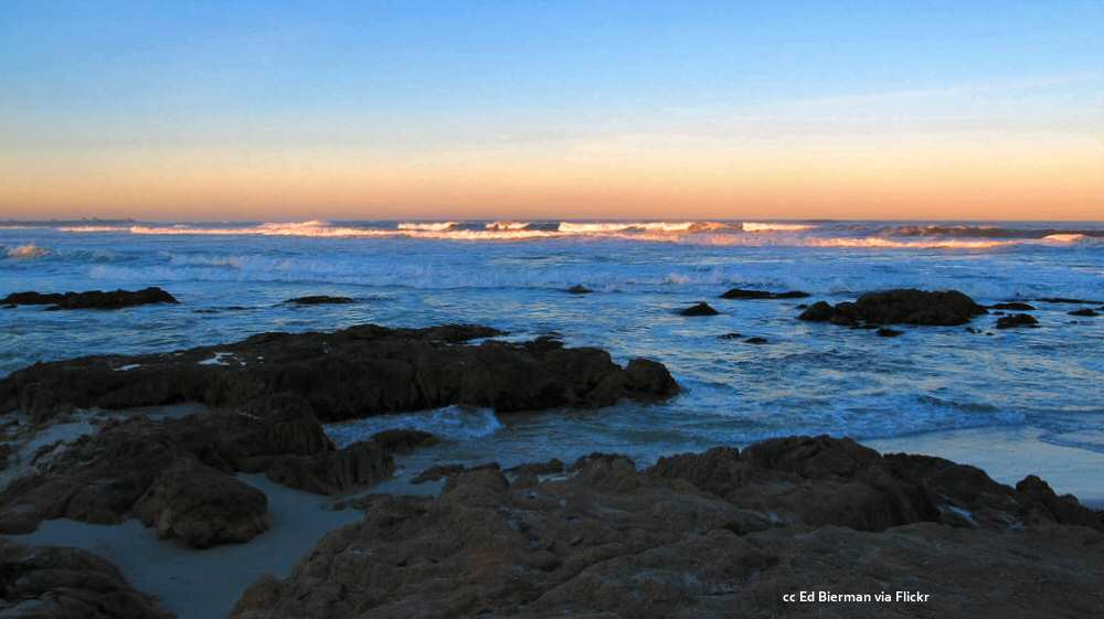 Sunrise at Asilomar State Beach