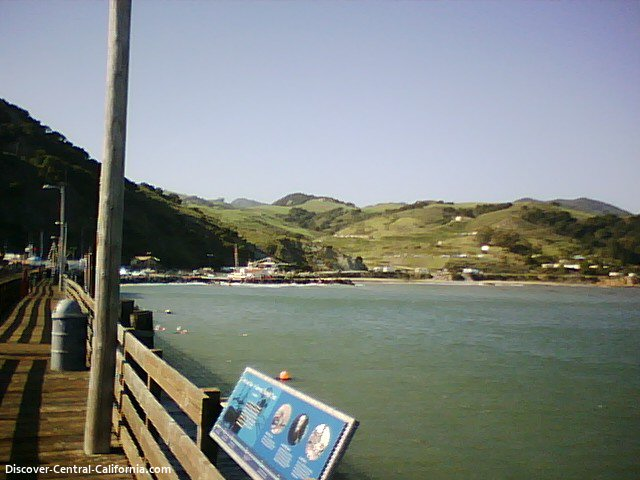View toward Avila Beach from the Port Harford pier
