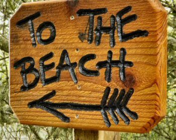 A great sign - found at Oso Flaco Lake in the Oceano Dunes of Central California