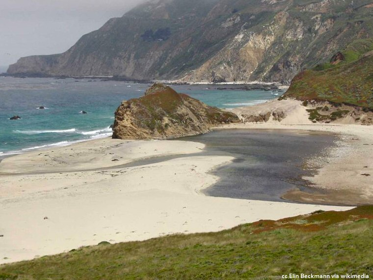Andrew Molera Beach at the northern end of the Big Sur coast