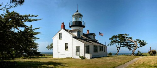 Point Pinos Light house profile