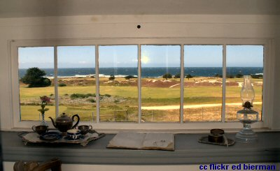 View out from the Point Pinos Light house