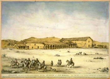 Mission San Miguel in the 19th century