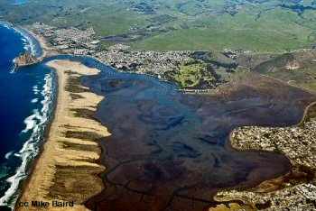 Morro Bay from the air