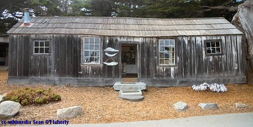 Point Lobos whalers cabin