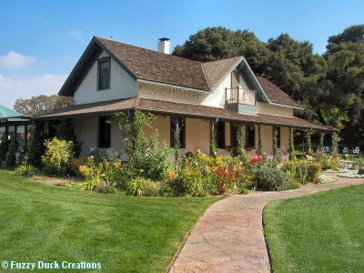 Historic adobe at Rideau winery