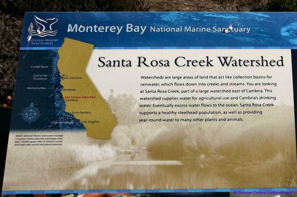 Santa Rosa Creek Watershed information