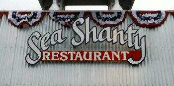 The Sea Shanty restaurant in Cayucos