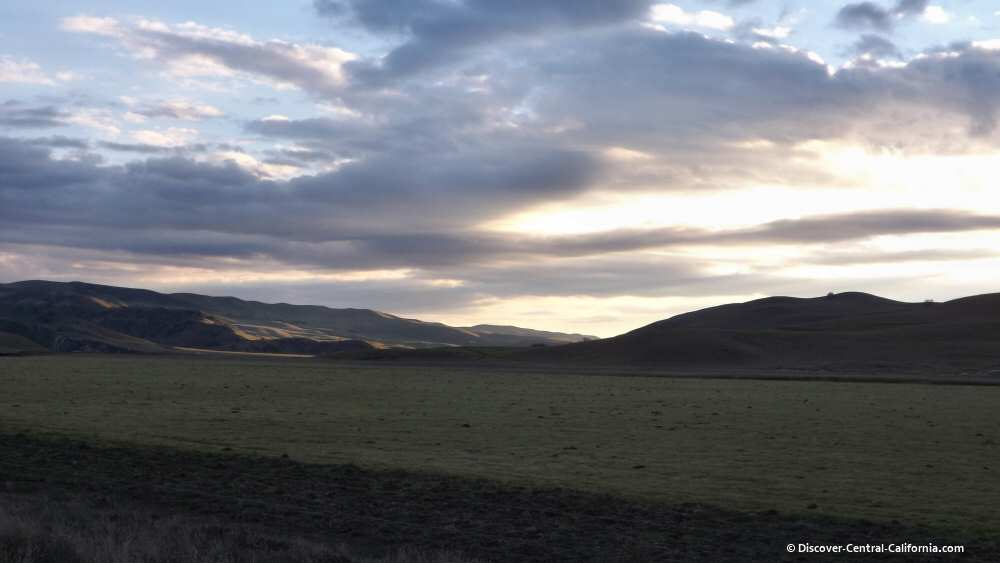 Sunset over the Cholame Valley