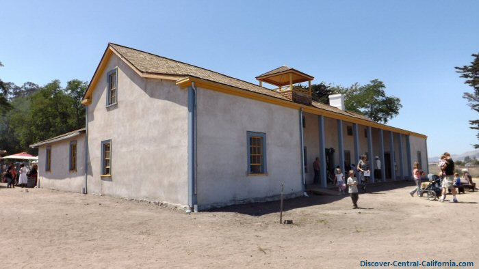 View of the adobe to the NW with the veranda