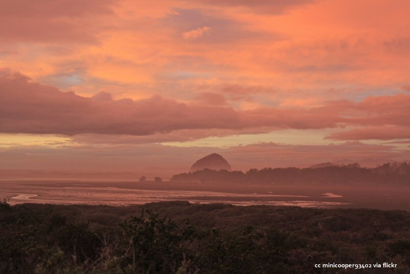 Sunset over Morro Bay and the Los Osos Elfin Forest