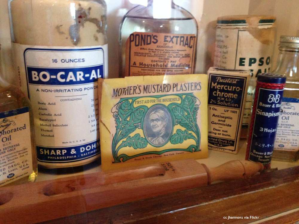 Hearst Castle apothecary