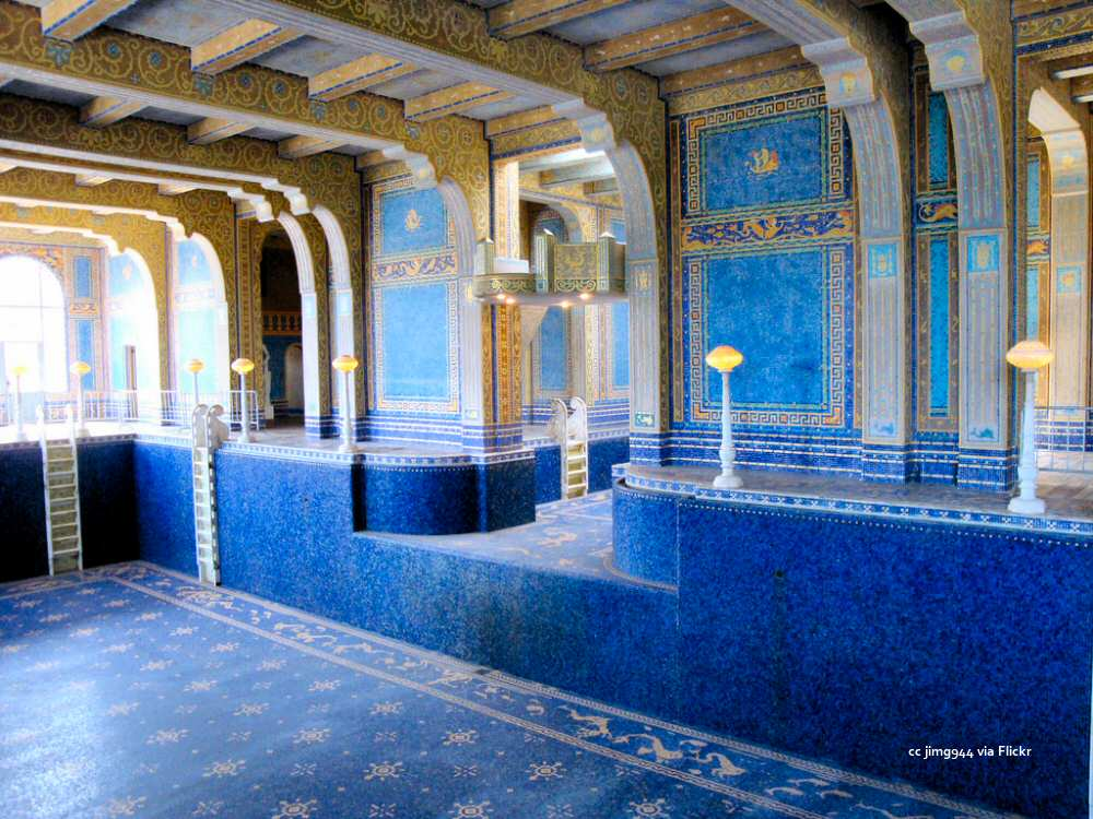 Indoor Roman Pool without water