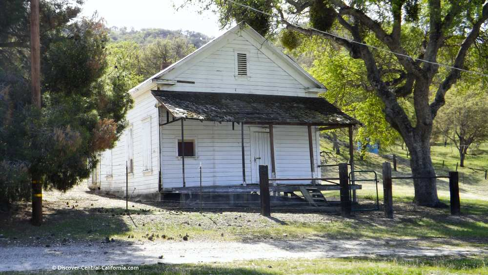 Old building along Indian Valley Road