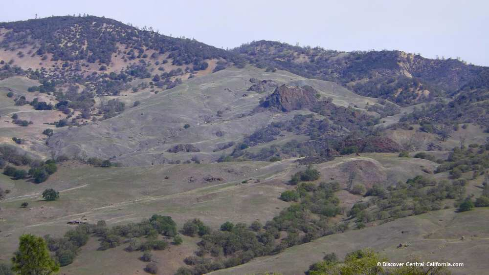 The San Andreas Fault at the northern end of Indian Valley