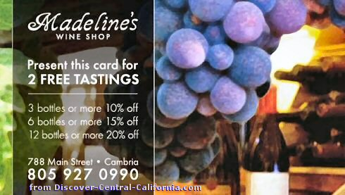 Madeline's Wine Shop Coupon