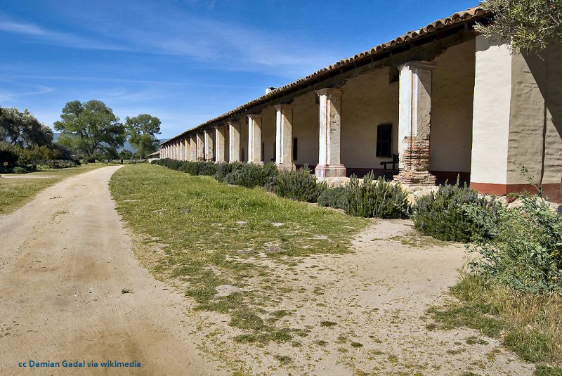 Mission La Purisima in Lompoc