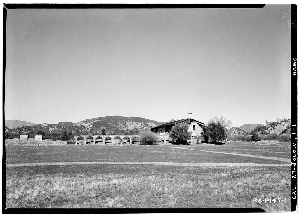 1934 photo of Mission San Antonio