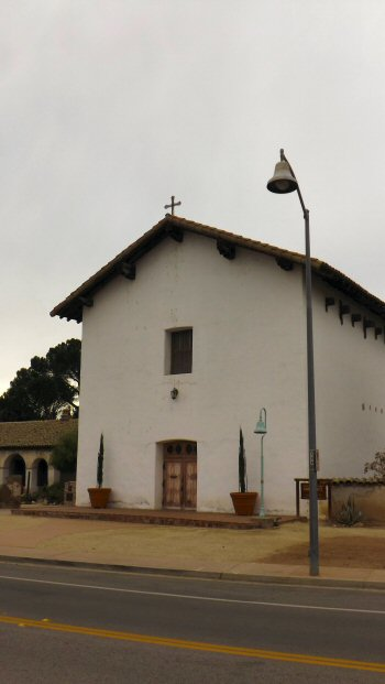 Mission San Miguel restored after the 2003 earthquake