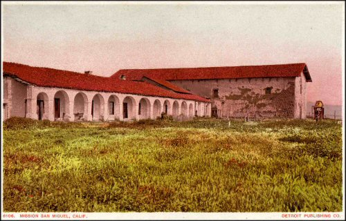 The San Miguel Mission In Central California