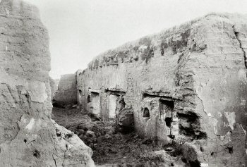 Ruins of the Soledad Mission about the year 1900