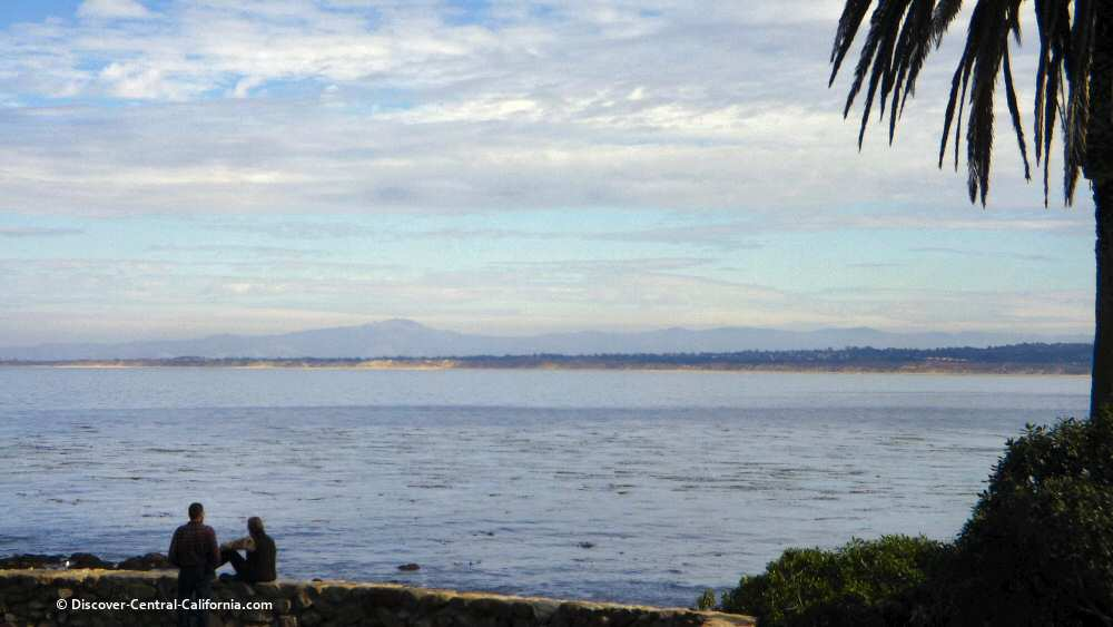 View of Monterey Bay to the Northeast