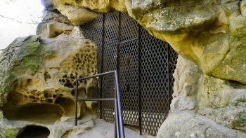 Grate over the Painted Cave