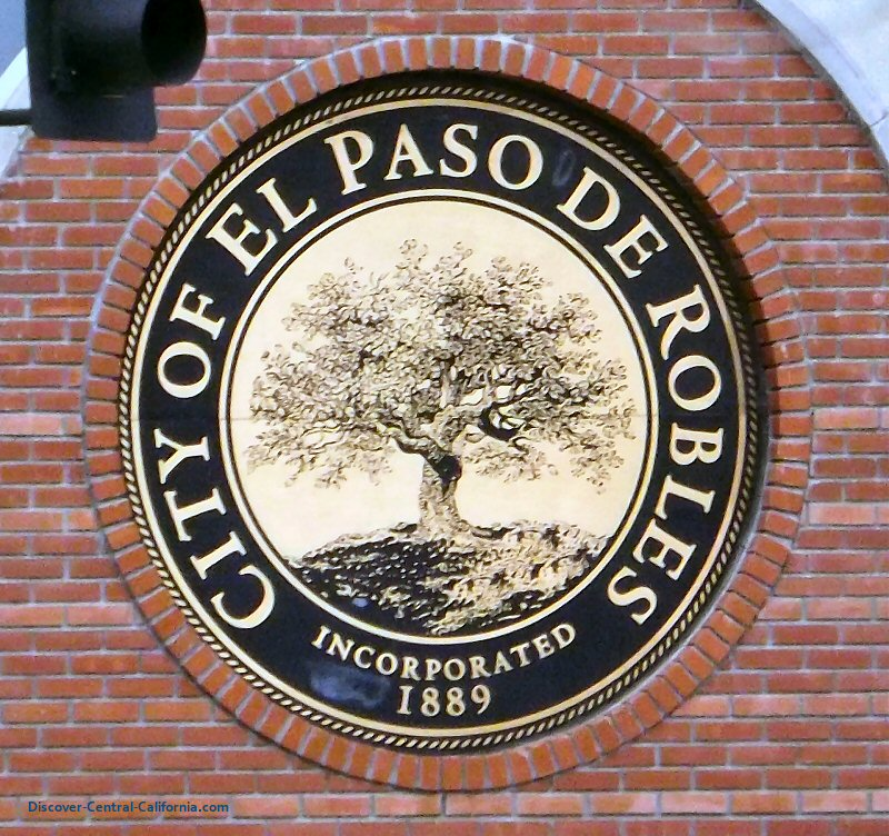 The city seal of Paso Robles