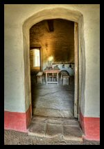 A view of the restored interior at La Purisima Mission