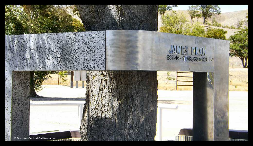 James Dean Memorial at the Jack Ranch Cafe in Cholame