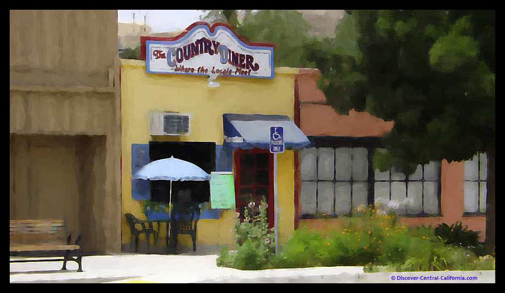 The Country Diner in downtown San Miguel