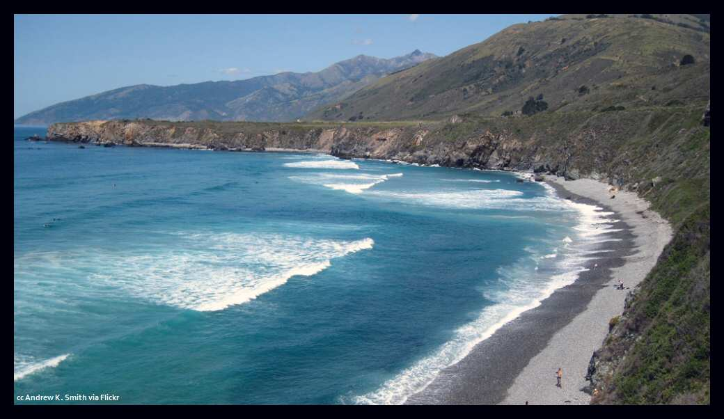 Sand Dollar Beach Along The Big Sur Coast How To Get There What