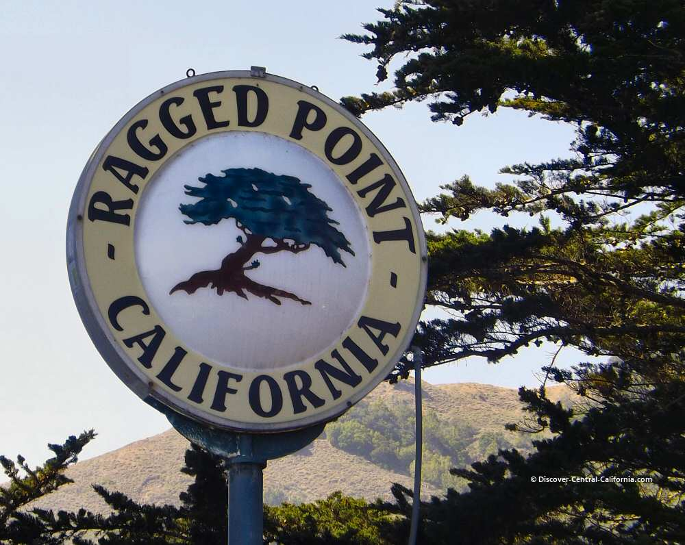 Ragged Point sign