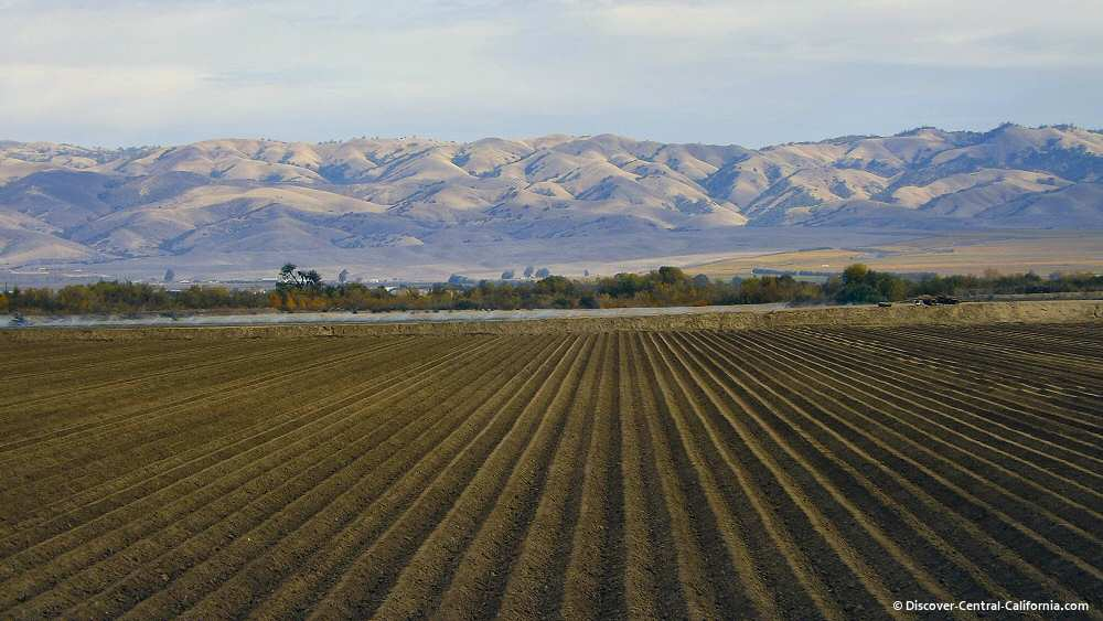 A Salinas River valley field readied for planting