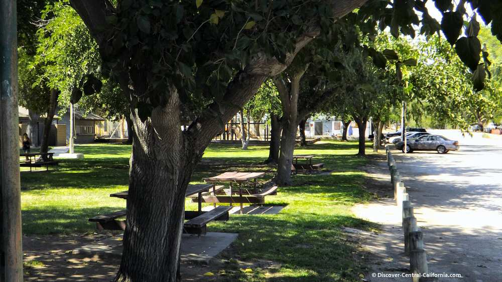 Picnic areas at San Miguel Community Park