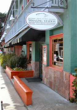 Exterior of the Whaling Station Restaurant in Monterey