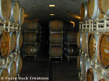 central california wine aging in barrels