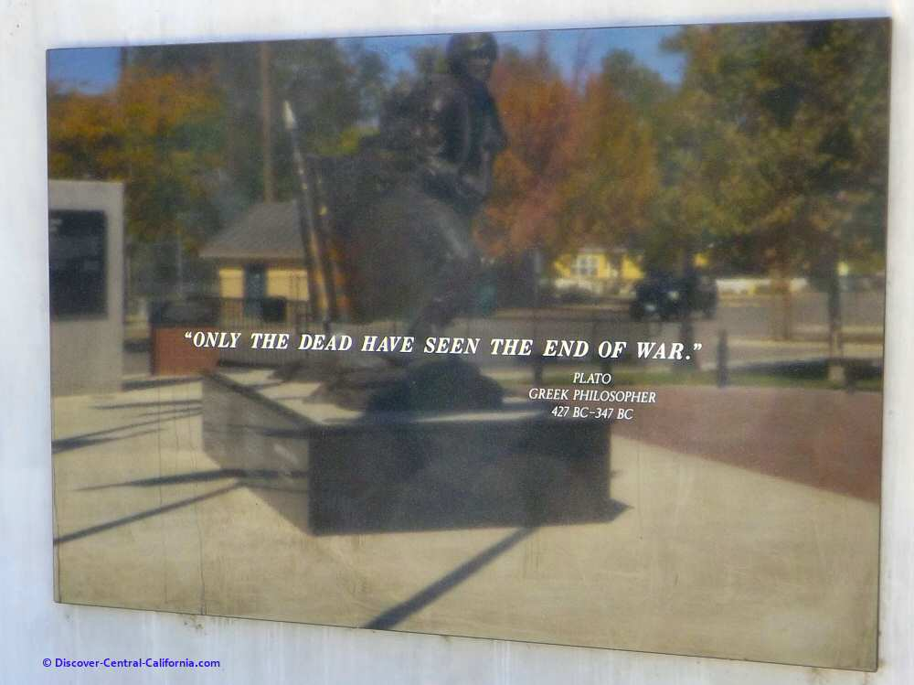 Only the dead have seen the end of war - Plato