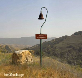 Camino Real bell and marker