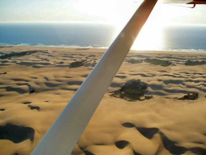Oceano Dunes from the air
