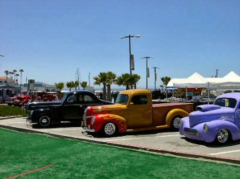 Hot Rods at the Pismo Car Show
