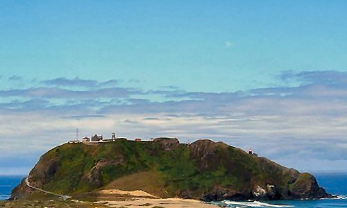 View of the Point Sur lighthouse