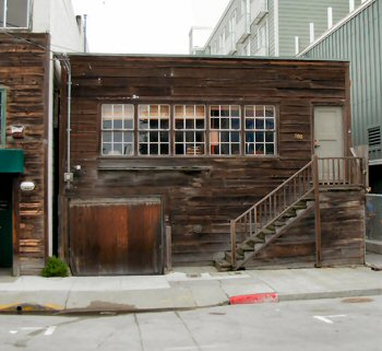 Ed Rickett's Pacific Biological Laboratory building on Cannery Row in Monterey