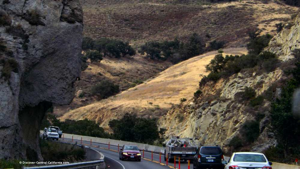 Gaviota Pass rock - Indian chin