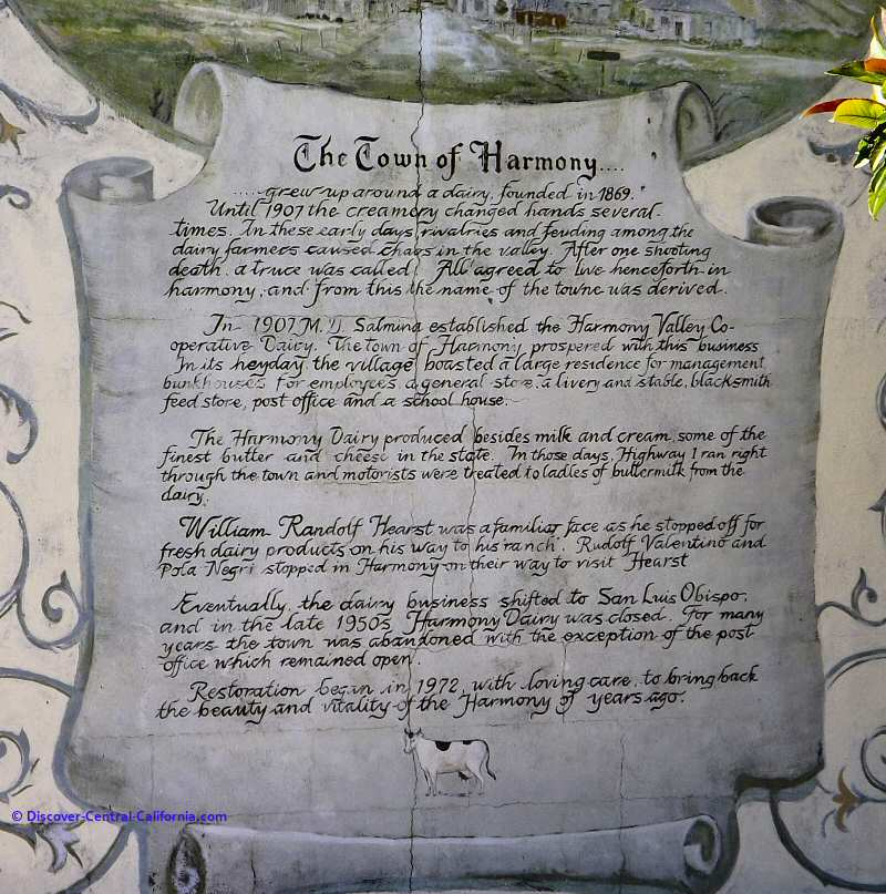 Town of Harmony history mural