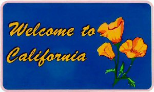 Welcome to California!