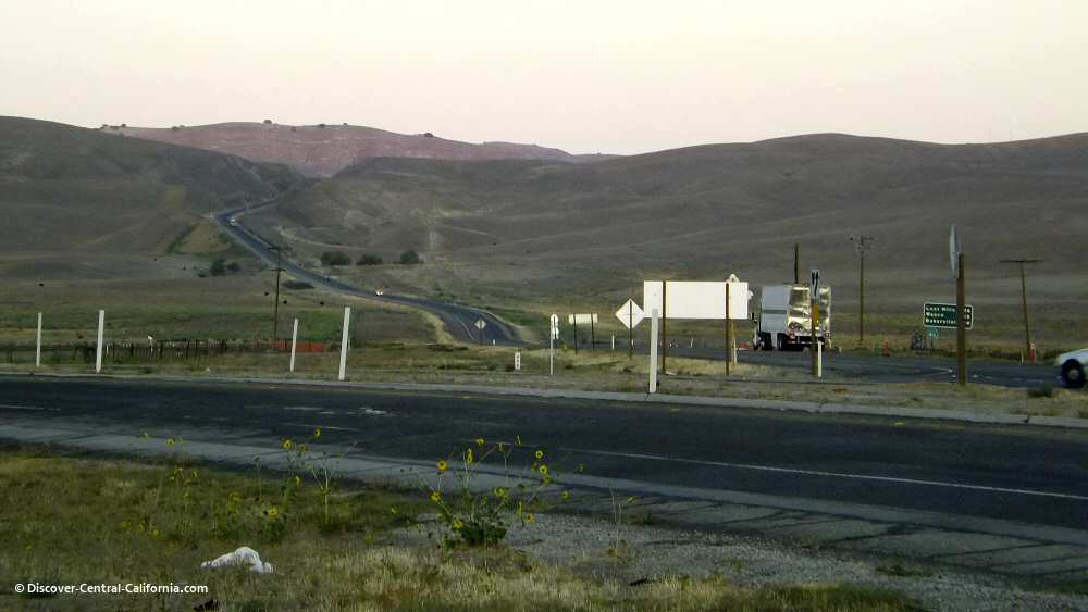 Looking east from the James Dean Memorial Junction