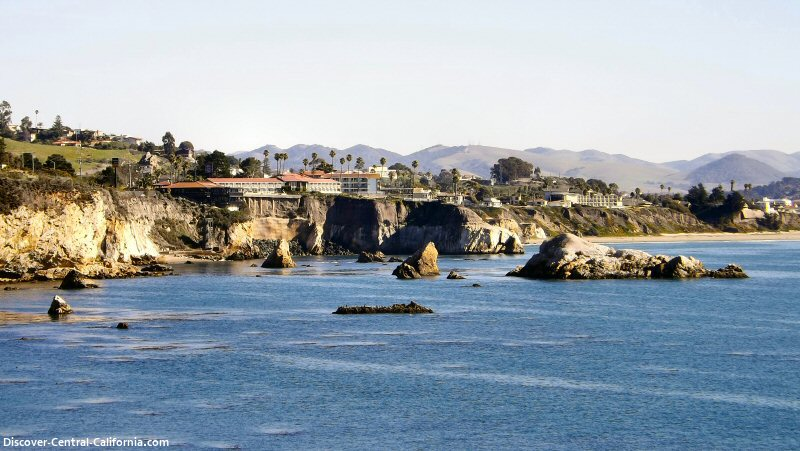 Pismo Beach viewed from Dinosaur Caves Park